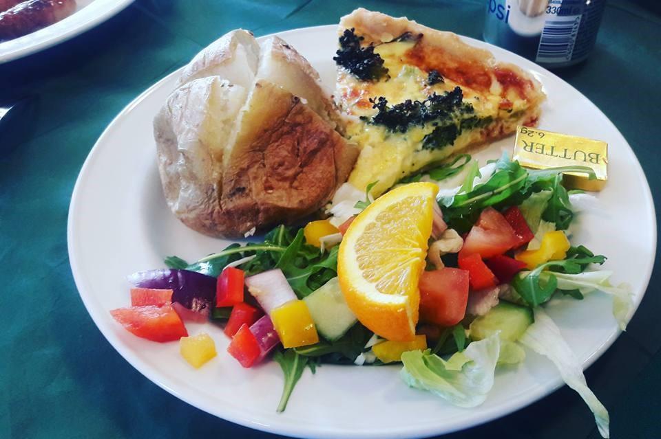 Food Kielder Castle Cafe