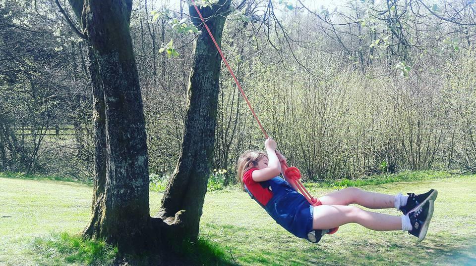 Ropeswing Kielder Forest