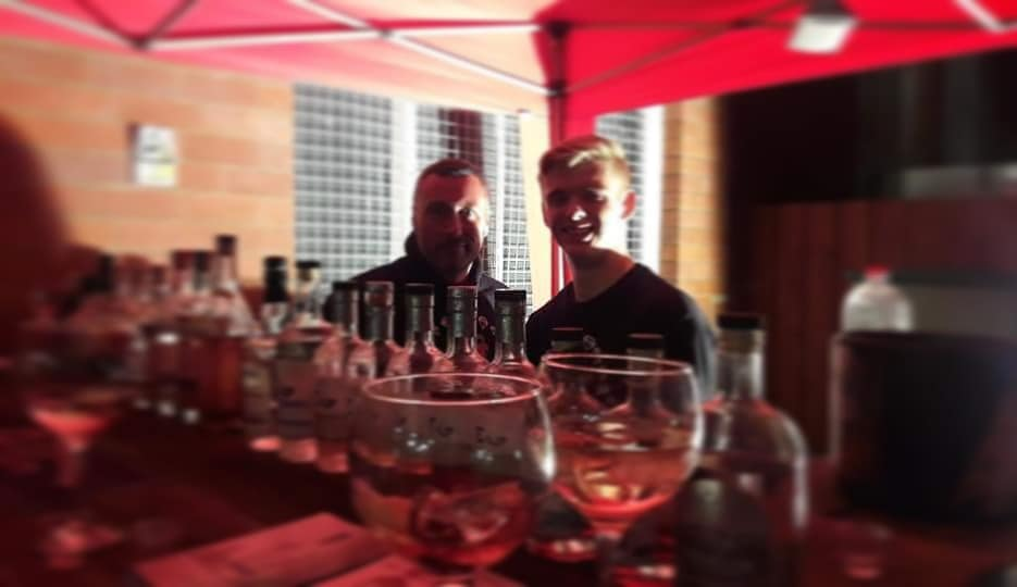 Gin and Rum Festival at Olives at the Station Edinburgh Gin