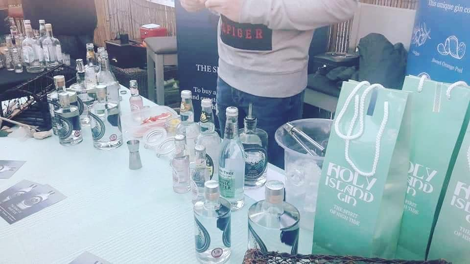 Holy Island Gin Gin and Rum Festival at Olives at the Station