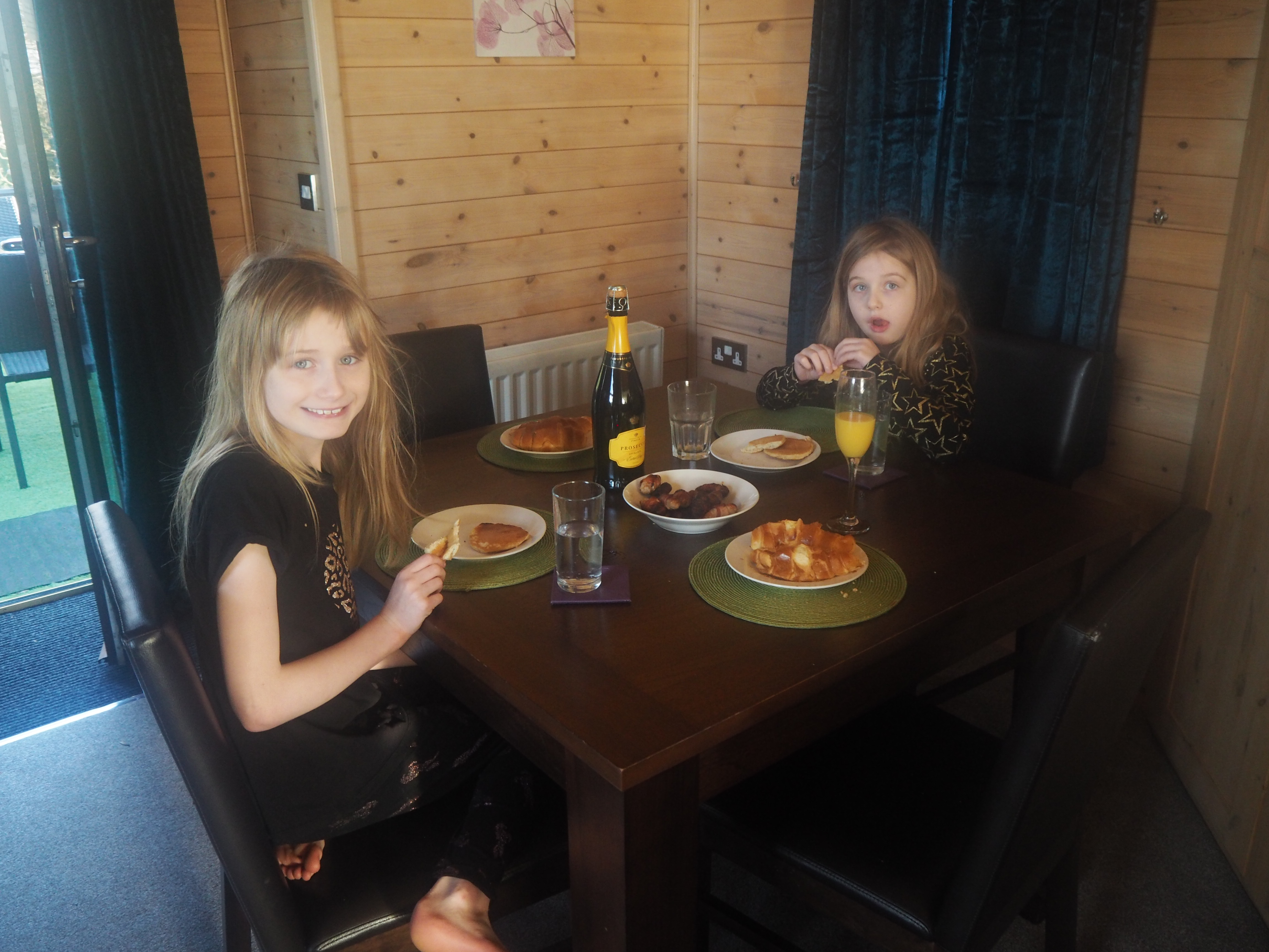 New Years Day Breakfast at Raywell Hall Country Lodges Larchwood Spa